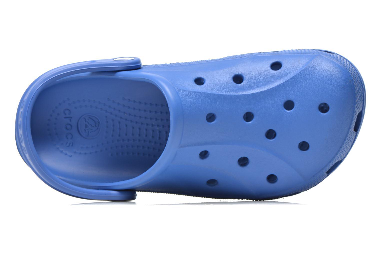 Zuecos Crocs Ralen Clog w Azul vista lateral izquierda