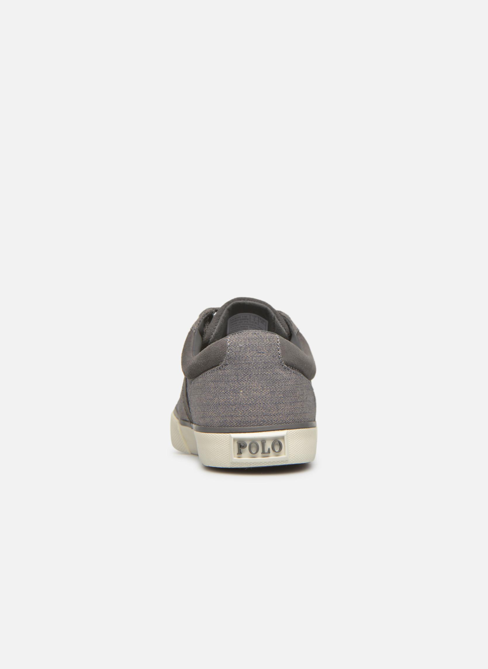 Sneakers Polo Ralph Lauren Halmore II Grigio immagine destra