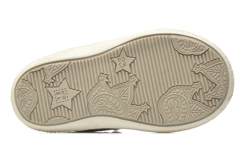 Sandales et nu-pieds Noël Mini Alizé Beige vue haut