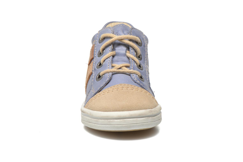 Baskets Noël Mini Marmo Bleu vue portées chaussures