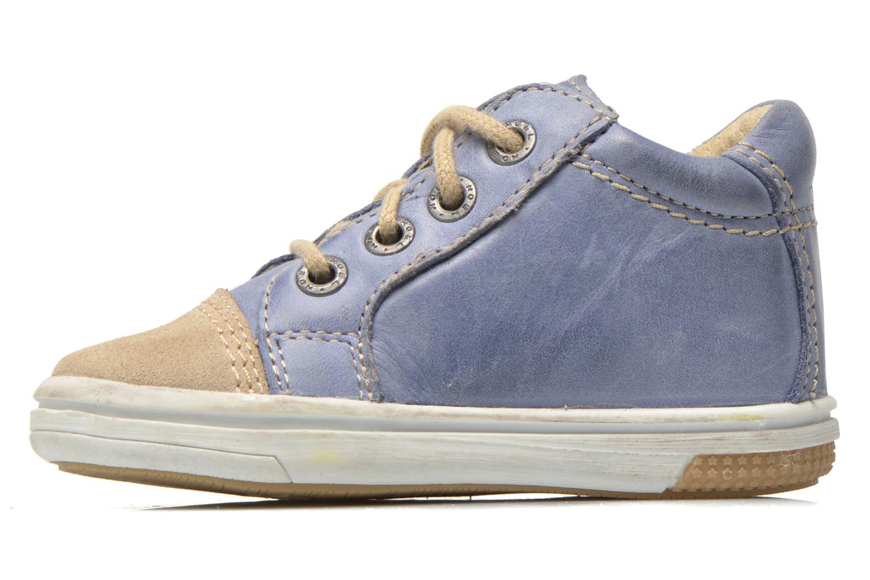 Sneaker Noël Mini Marmo blau ansicht von vorne