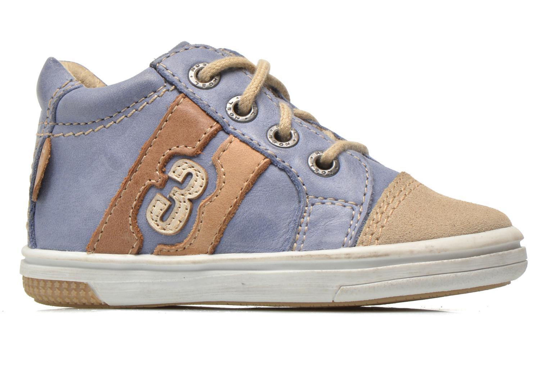 Sneaker Noël Mini Marmo blau ansicht von hinten