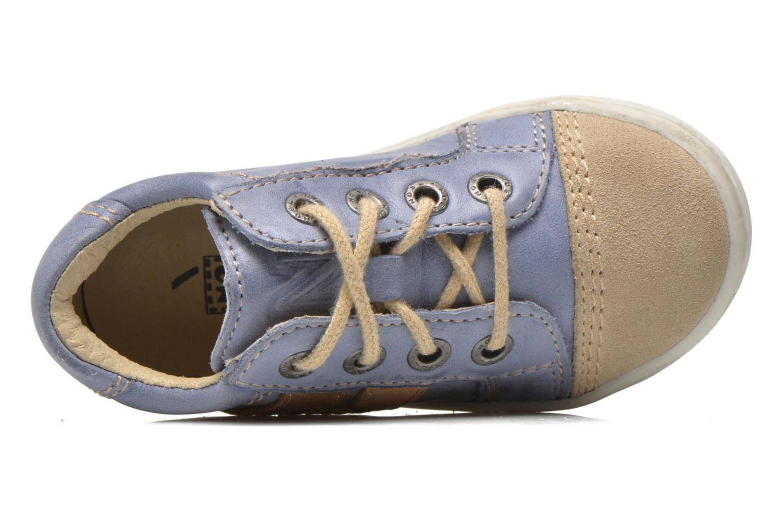 Sneaker Noël Mini Marmo blau ansicht von links