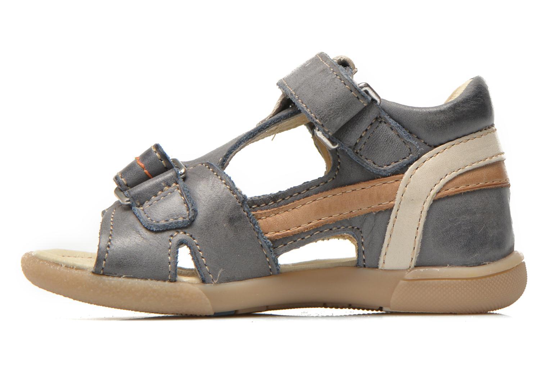 Sandals Noël Mini Bird Blue front view