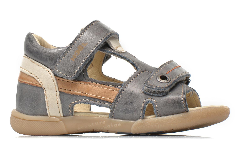 Sandals Noël Mini Bird Blue back view