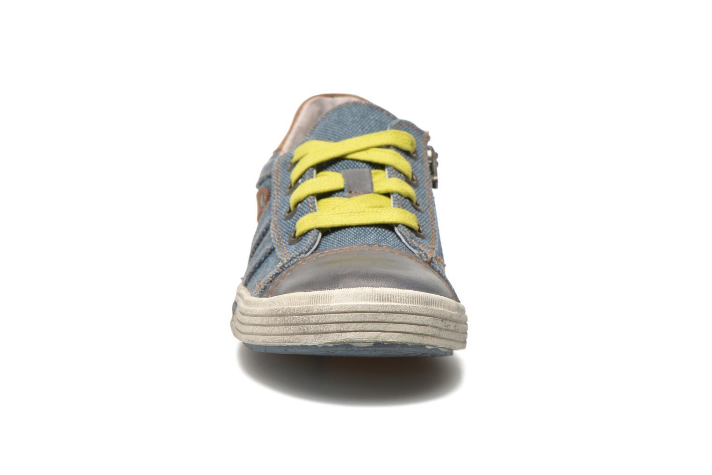 Baskets Noël Roméo Bleu vue portées chaussures