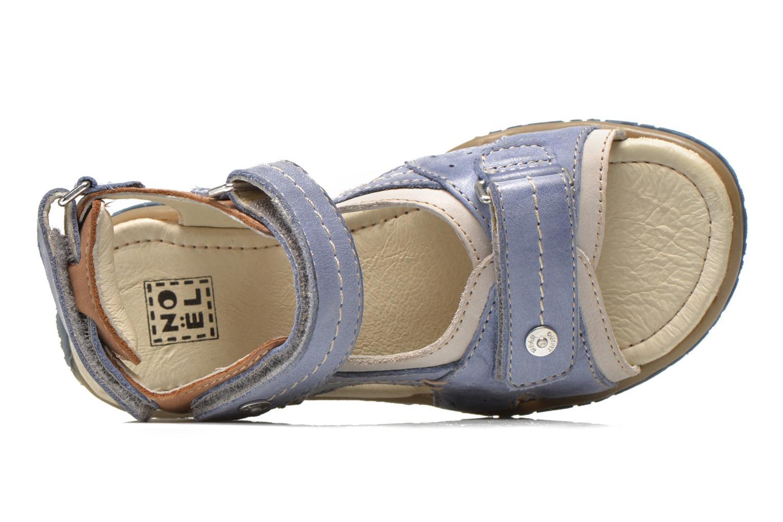 Sandales et nu-pieds Noël Tom Bleu vue gauche