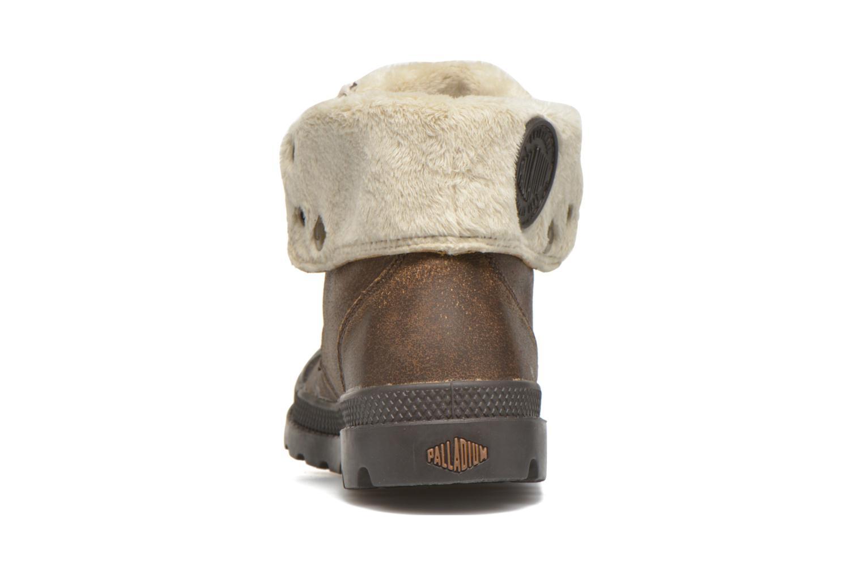 Bottines et boots Palladium BGY L ZIP FS K Marron vue droite