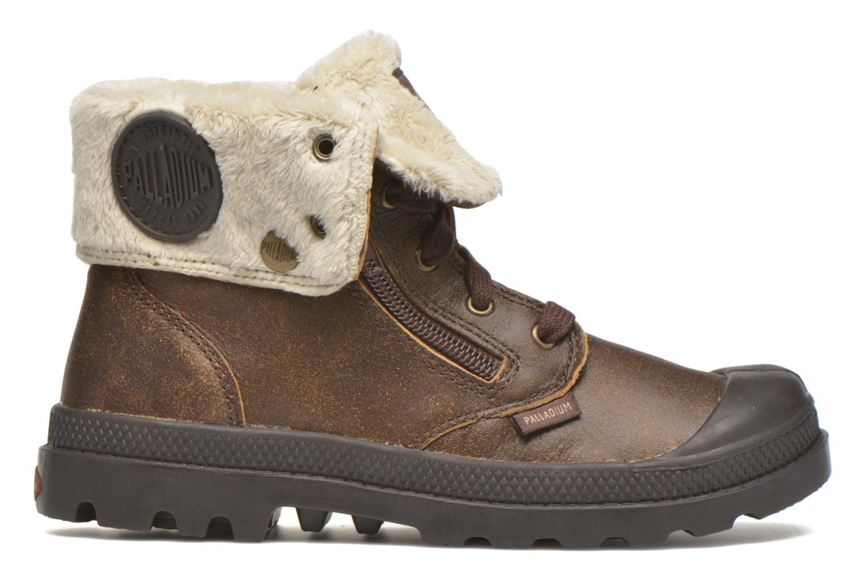 Bottines et boots Palladium BGY L ZIP FS K Marron vue derrière