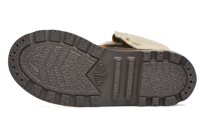 Bottines et boots Palladium BGY L ZIP FS K Marron vue haut