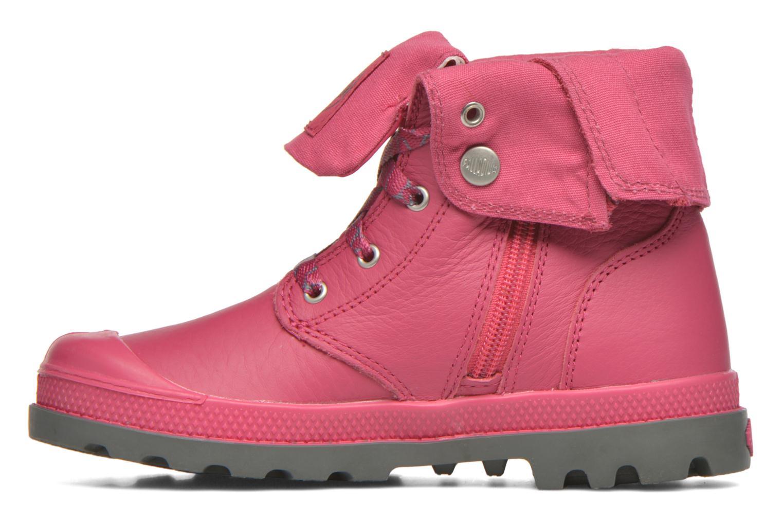Bottines et boots Palladium BGY VL Z II K Rose vue face