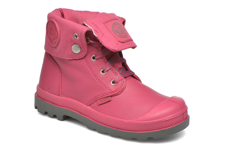 Bottines et boots Palladium BGY VL Z II K Rose vue détail/paire