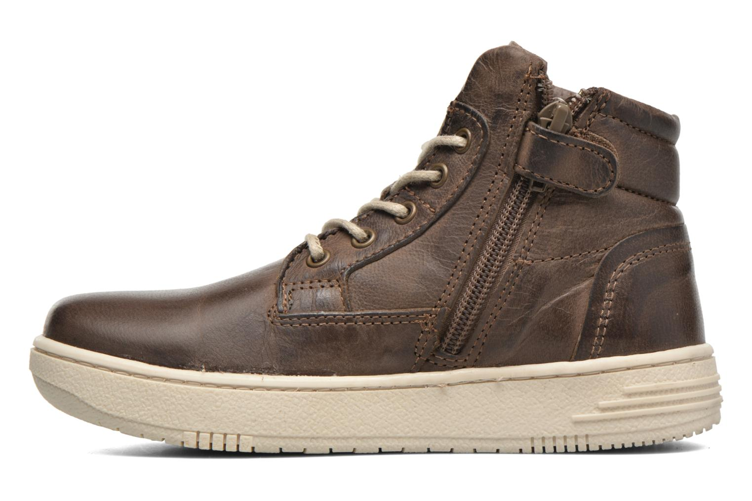 Trainers P-L-D-M By Palladium Galax Brown front view
