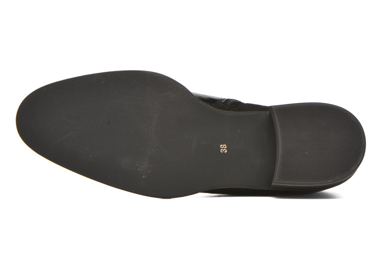 Stiefeletten & Boots Georgia Rose Tagetre schwarz ansicht von oben