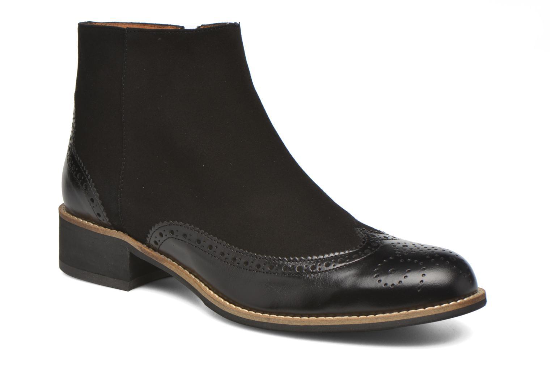 Stiefeletten & Boots Georgia Rose Tagetre schwarz detaillierte ansicht/modell
