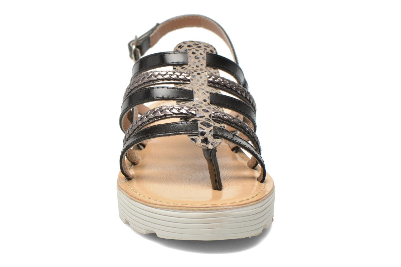 Sandales et nu-pieds Elizabeth Stuart Hicar 882 Noir vue portées chaussures