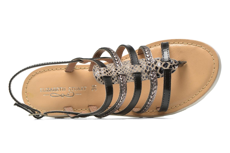 Sandales et nu-pieds Elizabeth Stuart Hicar 882 Noir vue gauche