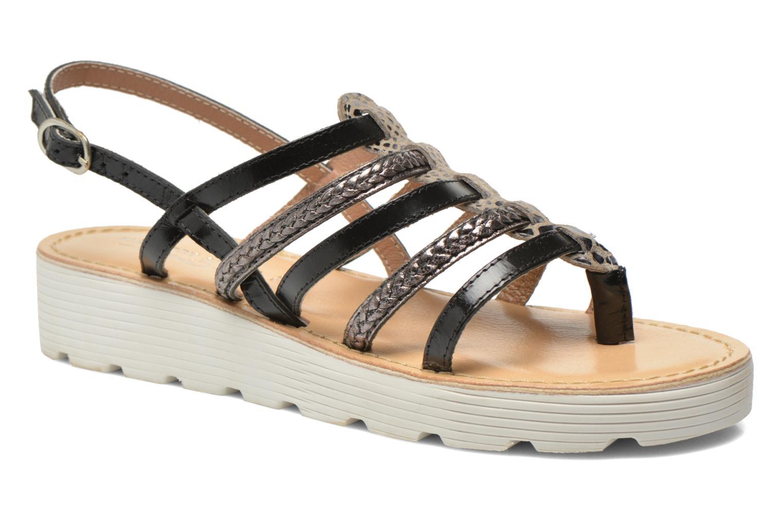 Sandales et nu-pieds Elizabeth Stuart Hicar 882 Noir vue détail/paire