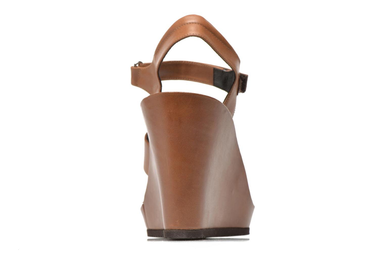 Sandals Elizabeth Stuart Butty 304 Brown view from the right