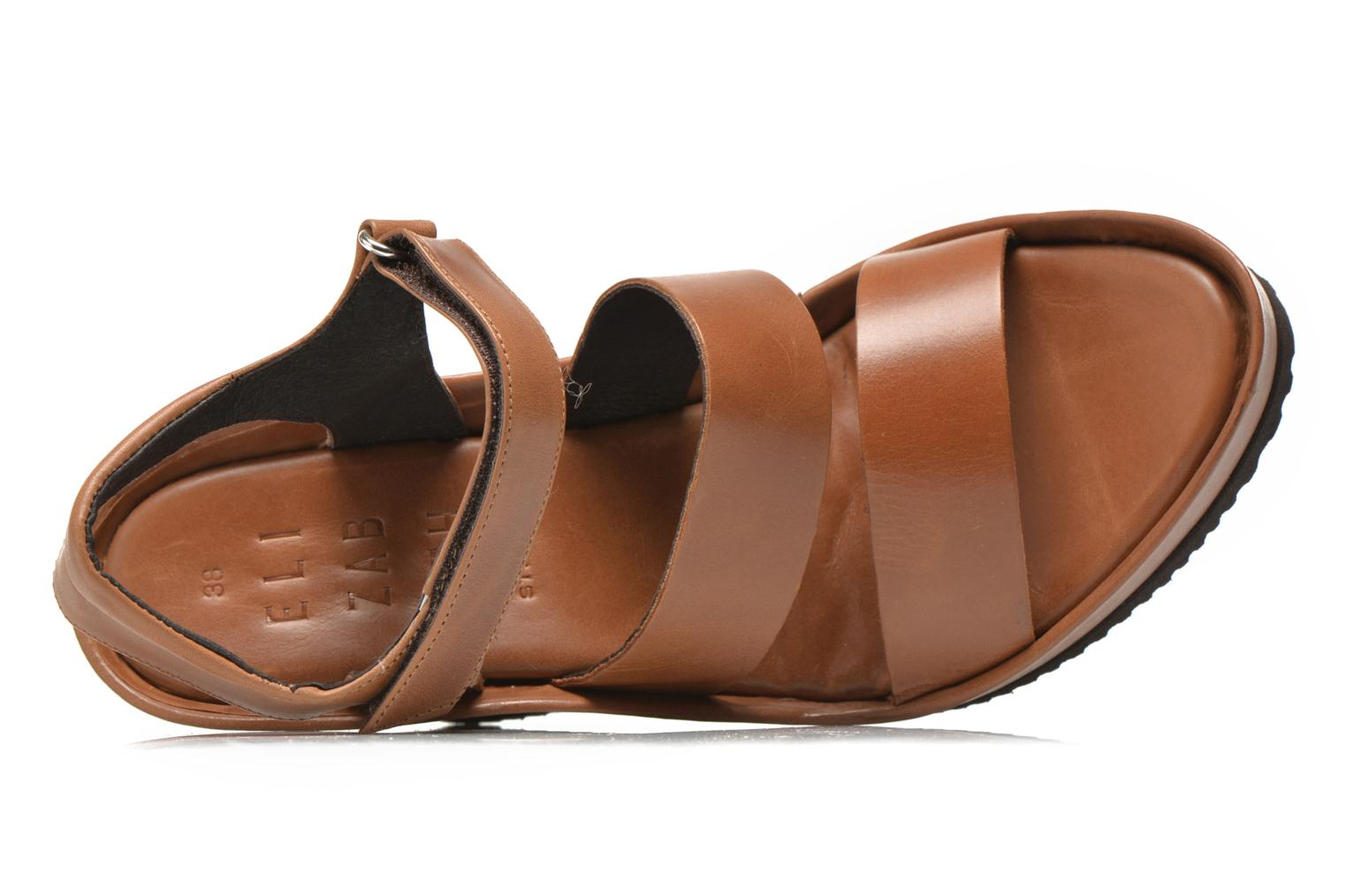 Sandals Elizabeth Stuart Butty 304 Brown view from the left