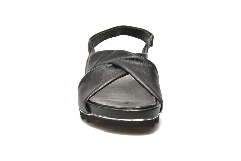 Sandales et nu-pieds Elizabeth Stuart Softy 868 Noir vue portées chaussures