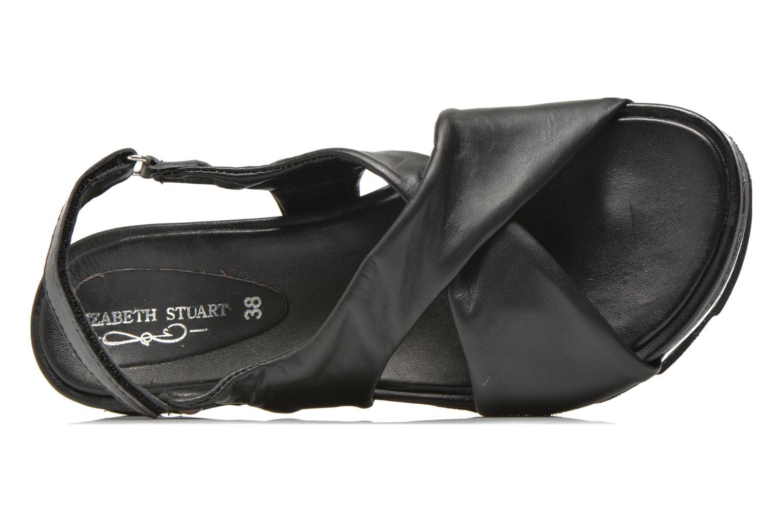 Sandales et nu-pieds Elizabeth Stuart Softy 868 Noir vue gauche