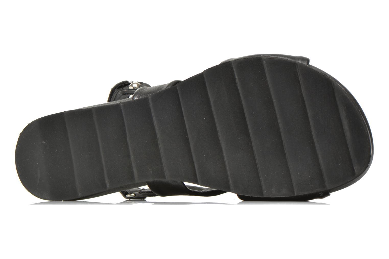 Sandales et nu-pieds Elizabeth Stuart Softy 868 Noir vue haut
