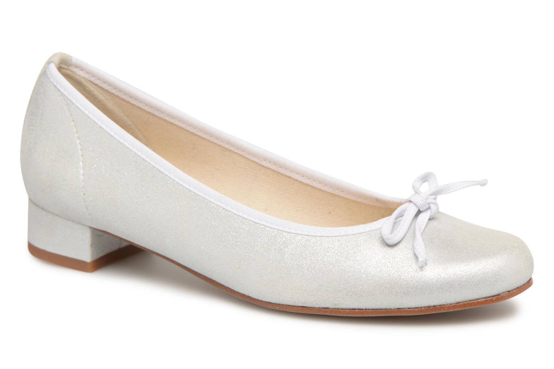 Bailarinas Elizabeth Stuart Josy 415 Blanco vista de detalle / par