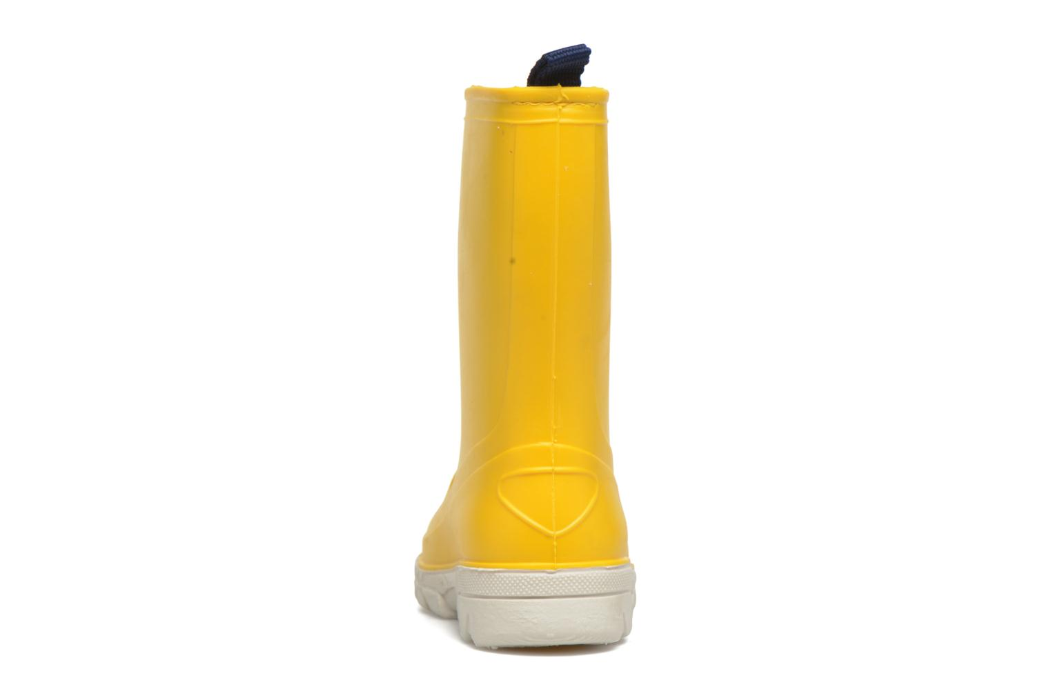 Boots & wellies SARENZA POP Virain kid Yellow view from the right