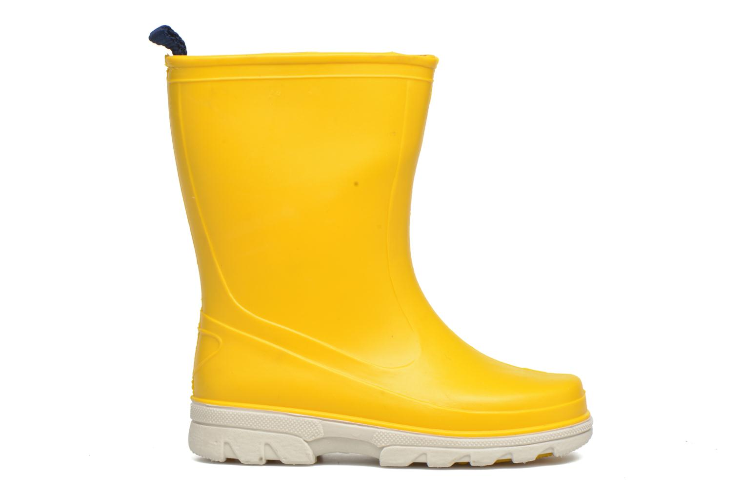 Boots & wellies SARENZA POP Virain kid Yellow back view