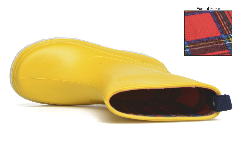Botas SARENZA POP Virain kid Amarillo vista lateral izquierda