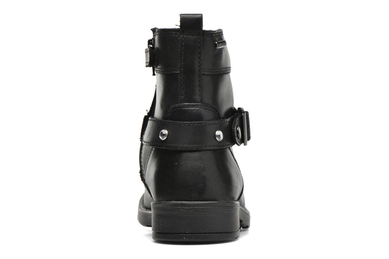 Bottines et boots Geox JR Sofia B ABX J54A2A Noir vue droite