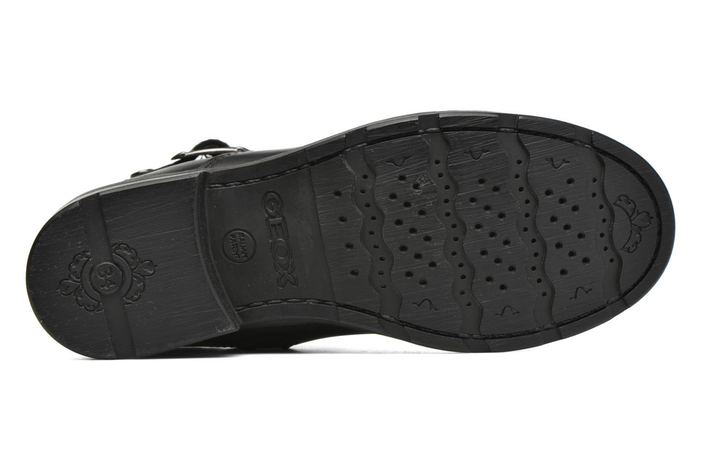 Bottines et boots Geox JR Sofia B ABX J54A2A Noir vue haut