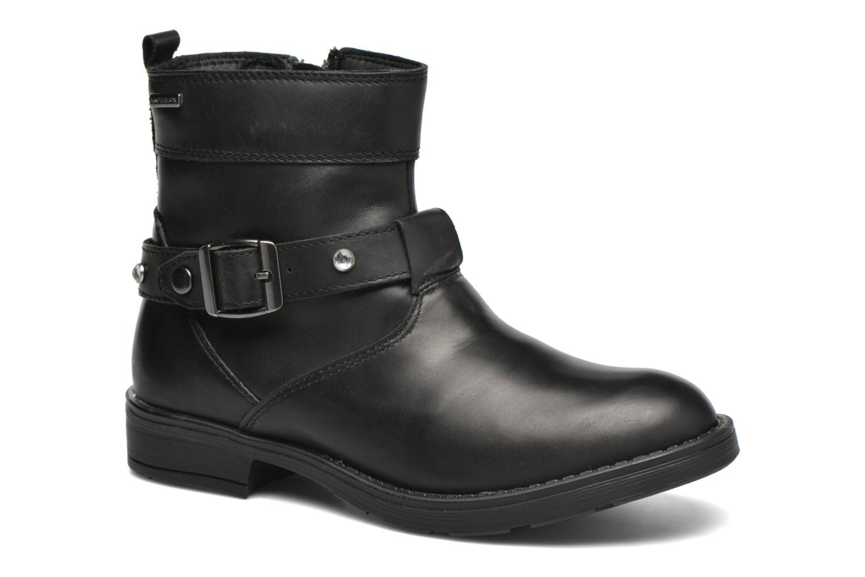 Bottines et boots Geox JR Sofia B ABX J54A2A Noir vue détail/paire