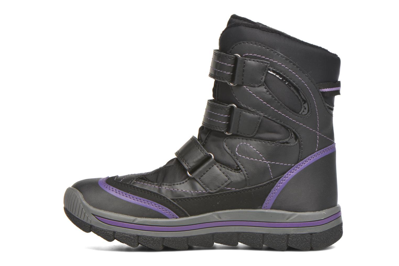Bottines et boots Geox J Overland B Girl AB J540FC Noir vue face