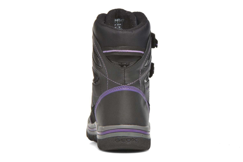 Bottines et boots Geox J Overland B Girl AB J540FC Noir vue droite
