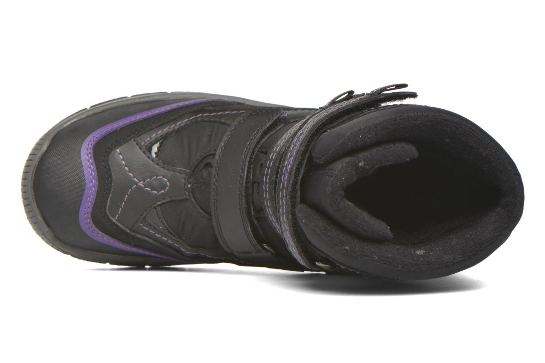 Bottines et boots Geox J Overland B Girl AB J540FC Noir vue gauche