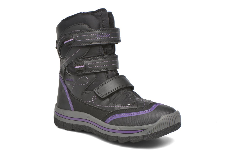 Bottines et boots Geox J Overland B Girl AB J540FC Noir vue détail/paire