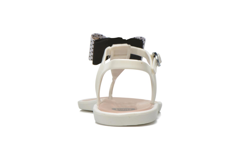 Sandales et nu-pieds Gioseppo Kanoa Blanc vue droite