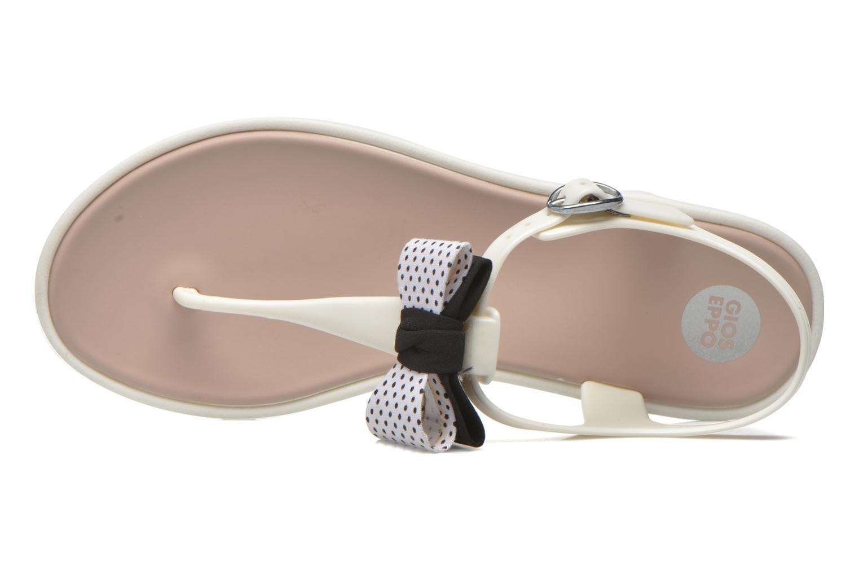 Sandales et nu-pieds Gioseppo Kanoa Blanc vue gauche