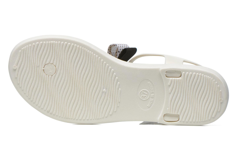 Sandales et nu-pieds Gioseppo Kanoa Blanc vue haut