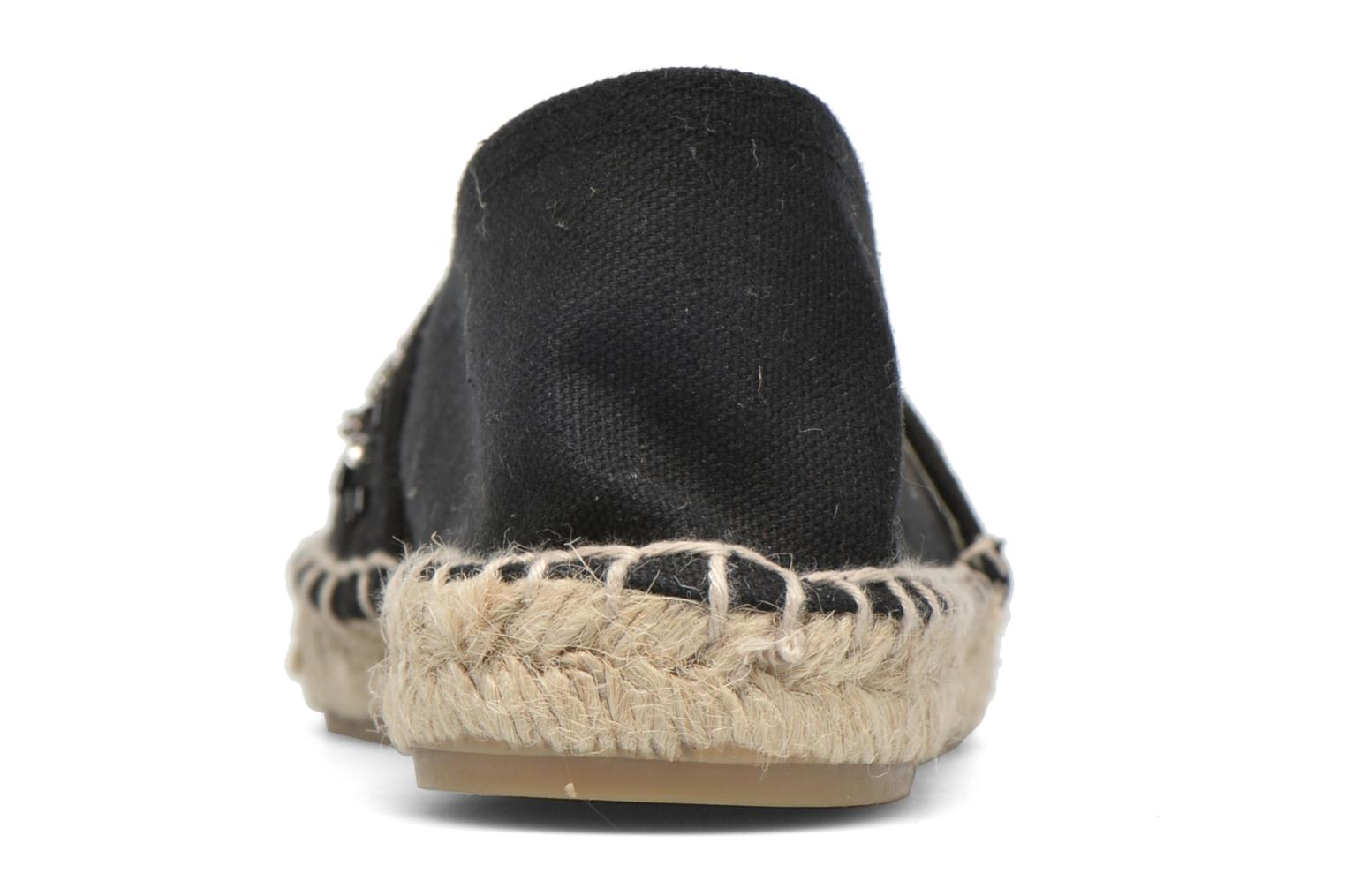 Espadrilles Gioseppo Abaran Black view from the right