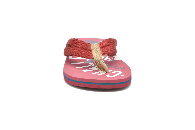 Zehensandalen Gioseppo Bitter rot schuhe getragen