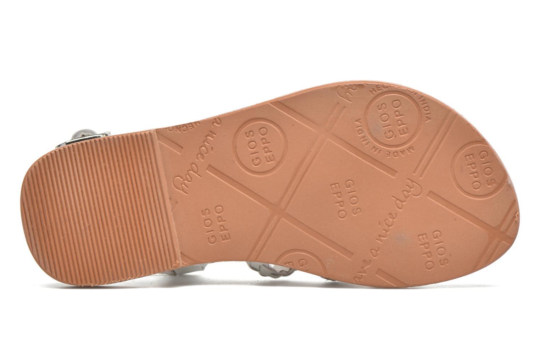 Sandales et nu-pieds Gioseppo Jacinthe Blanc vue haut