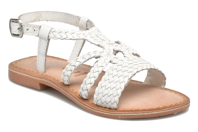 Sandales et nu-pieds Gioseppo Jacinthe Blanc vue détail/paire