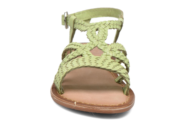 Sandales et nu-pieds Gioseppo Jacinthe Vert vue portées chaussures