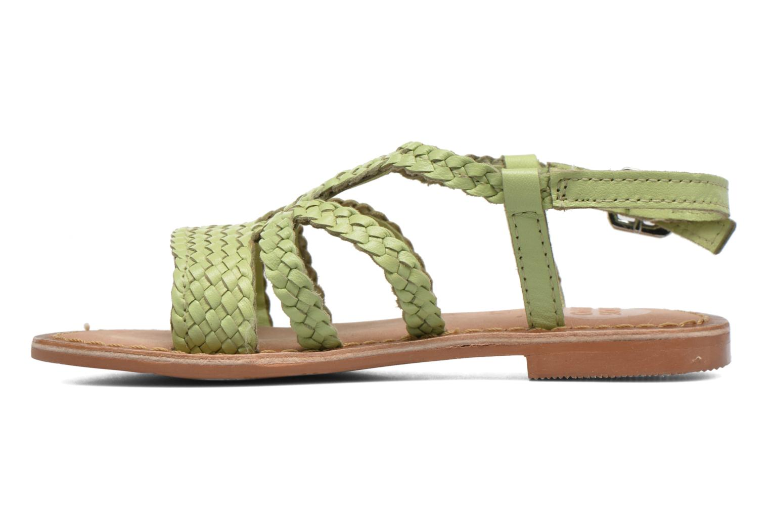 Sandals Gioseppo Jacinthe Green front view