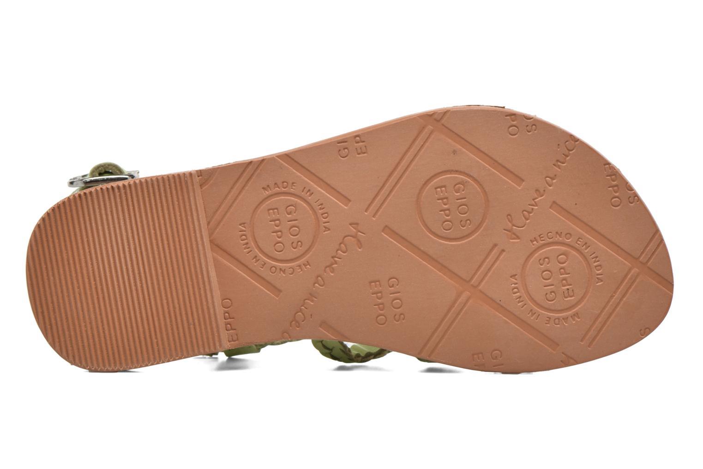 Sandales et nu-pieds Gioseppo Jacinthe Vert vue haut