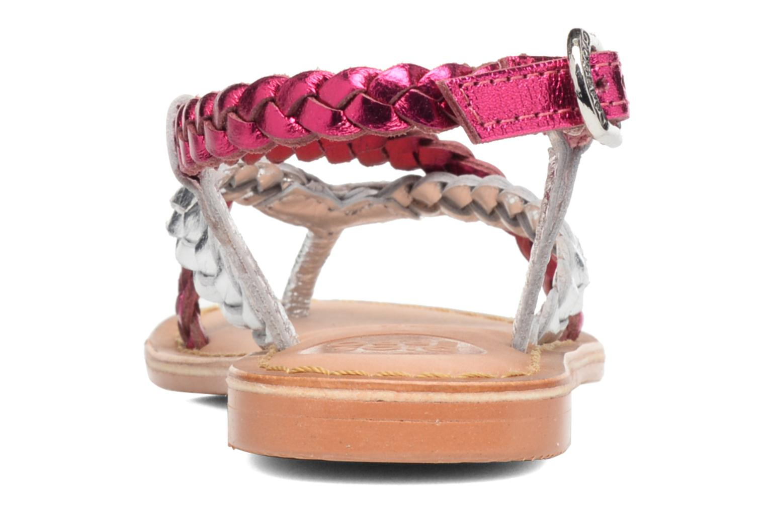 Sandals Gioseppo Orchidee Pink view from the right