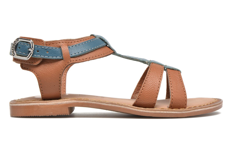 Sandales et nu-pieds Gioseppo Tulipe Marron vue derrière